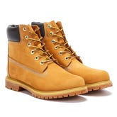 Timberland Womens Wheat Premium 6 Inch Nubuck Leather Boots