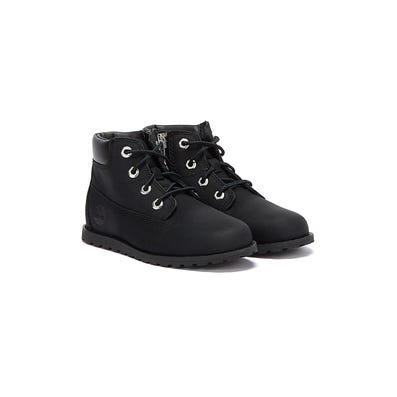 Timberland Pokey Pine 6 Inch Toddlers Black Boots