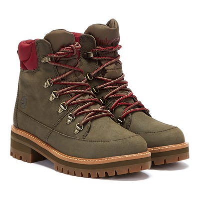 Timberland Courmayeur Valley WP Womens Olive Green Boots