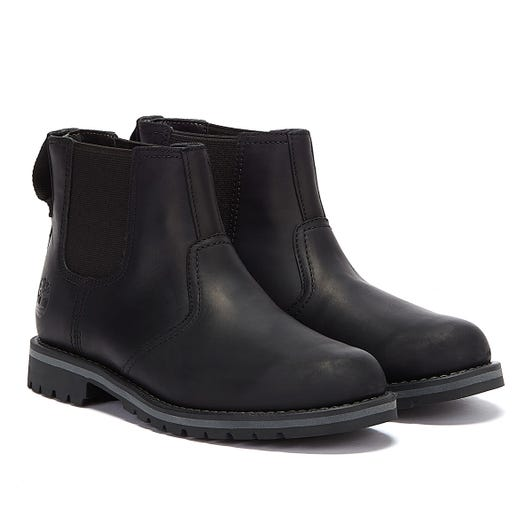 Timberland Larchmont II Chelsea Mens Black Boots