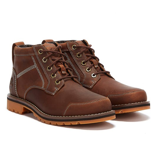 Timberland Larchmont Chukka Mens Rust Brown Boots
