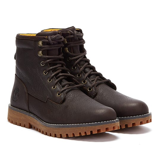 Timberland Jackson's Landing Waterproof Mens Dark Brown Boots