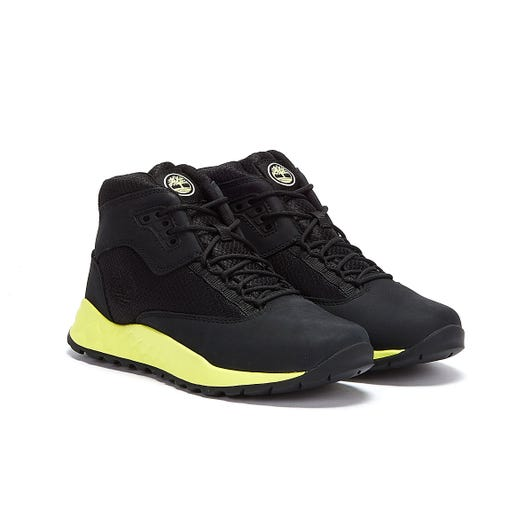 Timberland Solar Wave Mid Junior Black / Green Boots