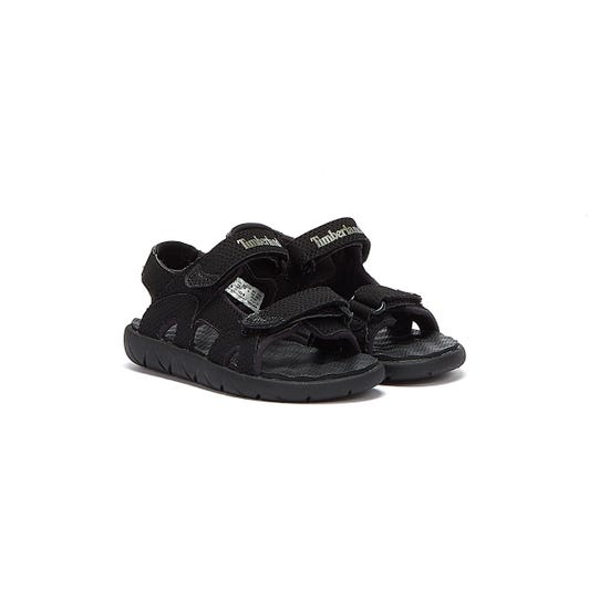 Timberland Perkins Row 2-Strap Toddlers Blackout Sandals