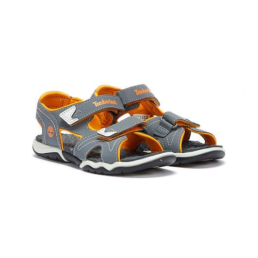 Timberland Adventure Seeker 2-Strap Youth Grey / Orange Sandals