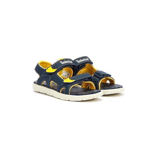 Timberland Toddlers Blue Perkins Row 2-Strap Sandals