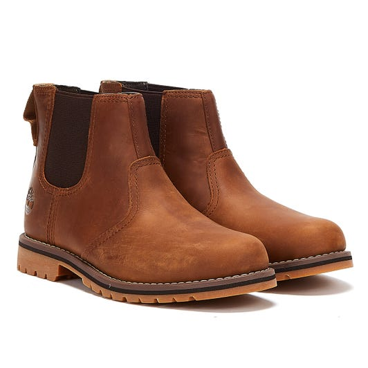 Timberland Larchmont Chelsea Mens Rust Boots