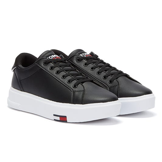 Tommy Jeans Fashion Cupsole Womens Black Trainers