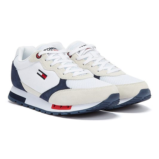 Tommy Jeans Retro Mens White Trainers