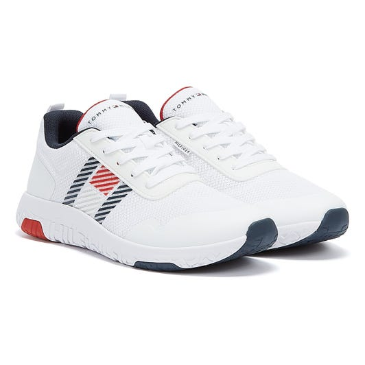 Tommy Hilfiger Lightweight Mens White Trainers