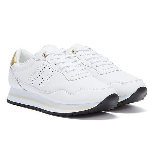 Tommy Hilfiger Lifestyle Runner Womens White Trainers