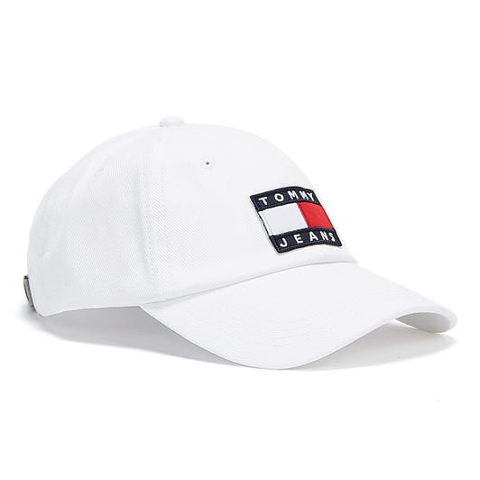 Tommy Jeans Heritage Mens White Cap
