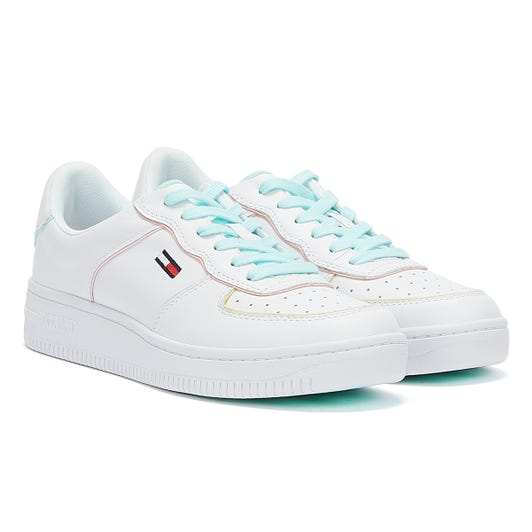 Tommy Jeans Abo Pastel Piping Womens White Trainers