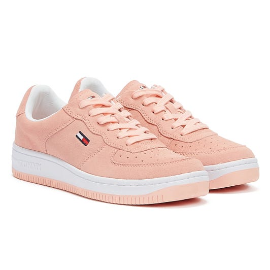 Tommy Jeans Abo Pastel Piping Womens Pink Trainers
