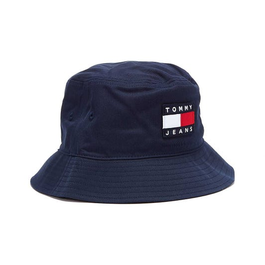 Tommy Jeans Heritage Mens Twilight Navy Bucket Hat