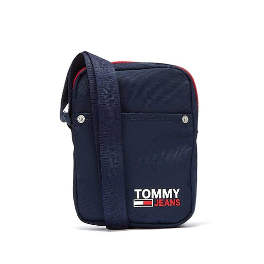 Tommy Jeans Campus Mens Navy Reporter Bag