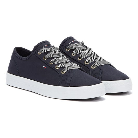 Tommy Hilfiger Essential Nautical Womens Navy Trainers