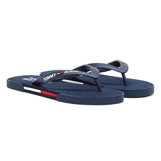 Tommy Jeans Beach Mens Twilight Navy Sandals
