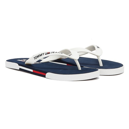 Tommy Jeans Beach Mens White Sandals