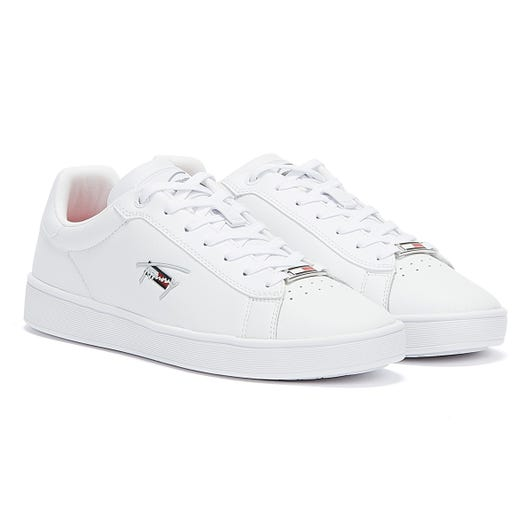 Tommy Jeans Clean Cupsole Womens White Trainers