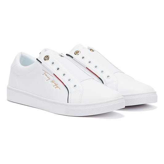 Tommy Hilfiger Cupsole Womens White Trainers