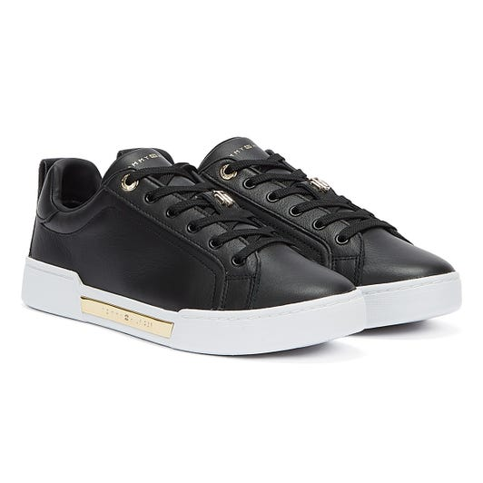 Tommy Hilfiger Hardware Elevated Womens Black Trainers