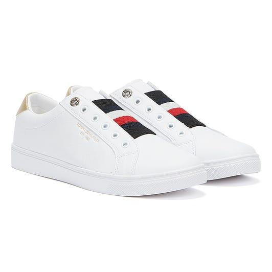 Tommy Hilfiger Icon Slip On Womens White Trainers