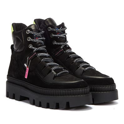 Tommy Jeans Hybrid Womens Black Boots