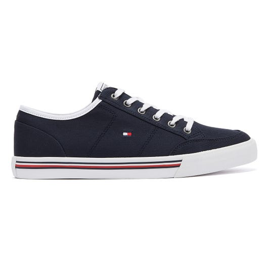 Tommy Hilfiger Core Corporate Textile Mens Navy Trainers