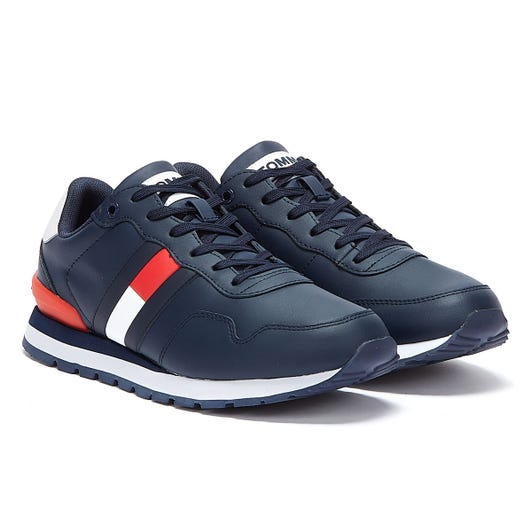 Tommy Jeans Lifestyle Runner Mens Navy Trainers