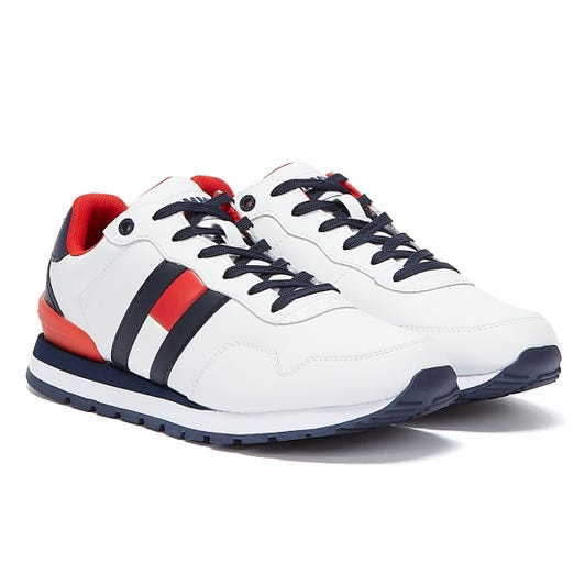 Tommy Jeans Lifestyle Runner Mens White Trainers