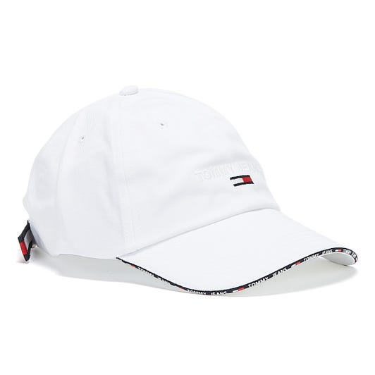 Tommy Jeans Sport Womens White Cap
