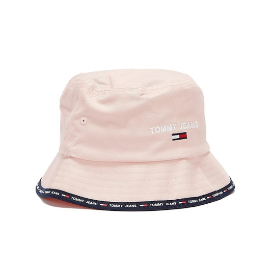 Tommy Jeans Sport Womens Pink Bucket Hat
