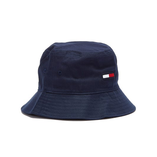Tommy Jeans Flag Mens Navy Bucket Hat