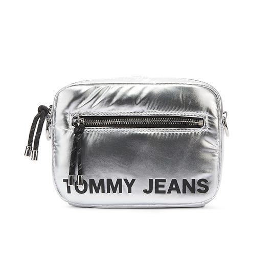 Tommy Jeans Item Crossover Silver Bag