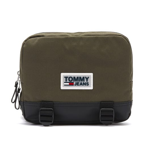 Tommy Jeans Urban Varsity Olive Night Body Bag