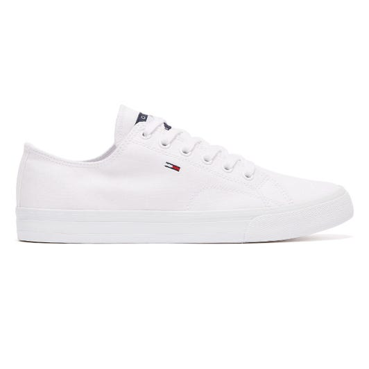 Tommy Jeans Low Top Vulcanised Womens White Trainers
