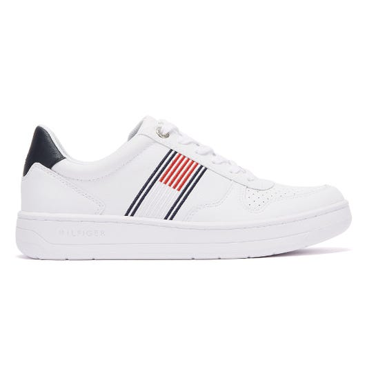 Tommy Hilfiger Low Top Cupsole Mens White Trainers