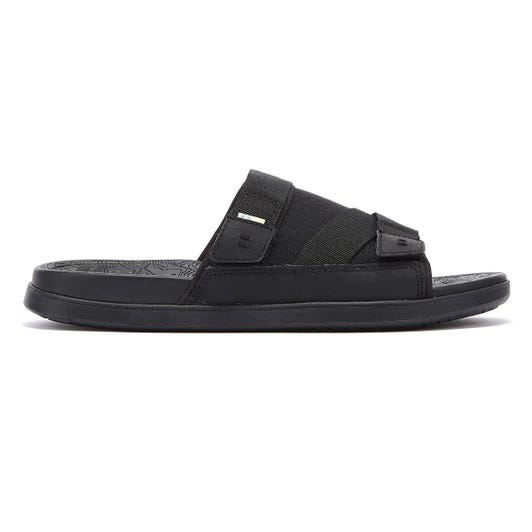 TOMS TRVL LITE Mens Black Slides
