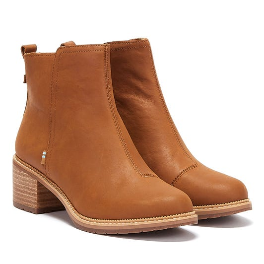 TOMS Marina Womens Brown Boots