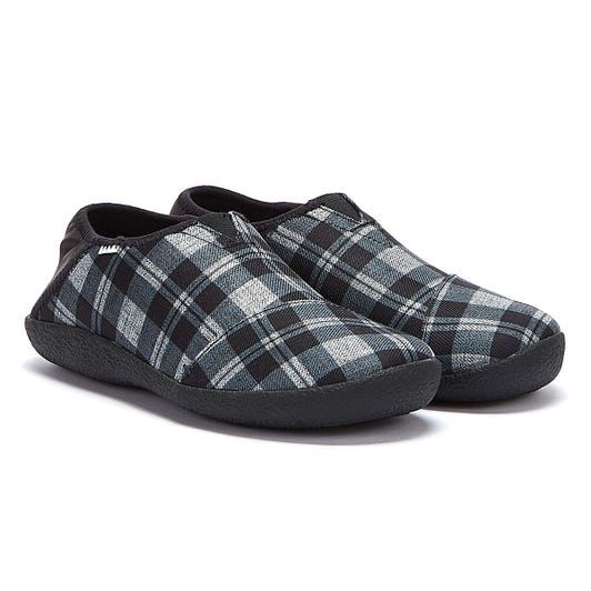 TOMS Rodeo Mens Black / Checkered Slippers