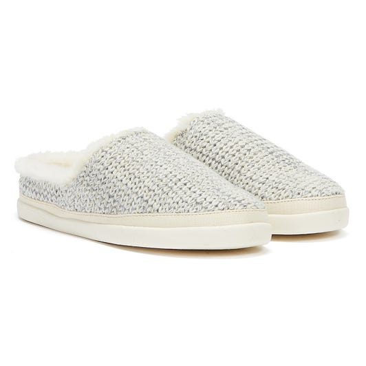 TOMS Sage Womens White Slippers