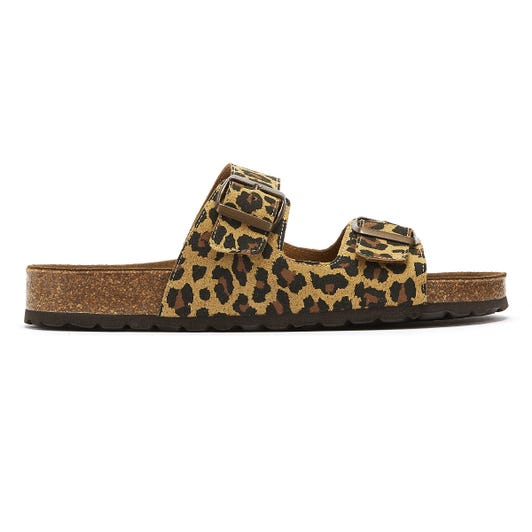 TOWER London Mai Tai Womens Leopard Slides