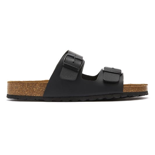 TOWER London Mai Tai Womens Black Slides