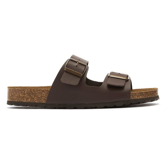 TOWER London Mai Tai Womens Brown Slides