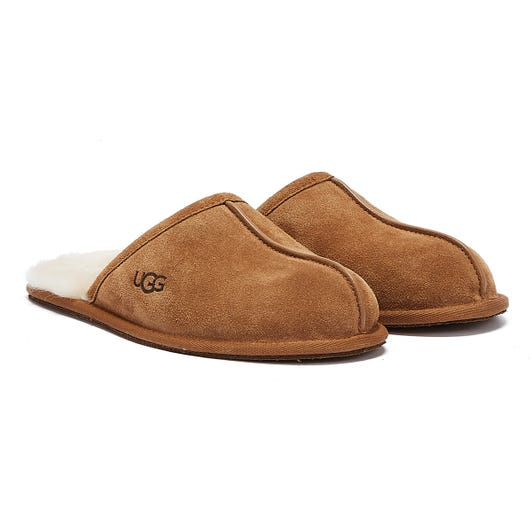 UGG Scuff Mens Chestnut Brown Slippers