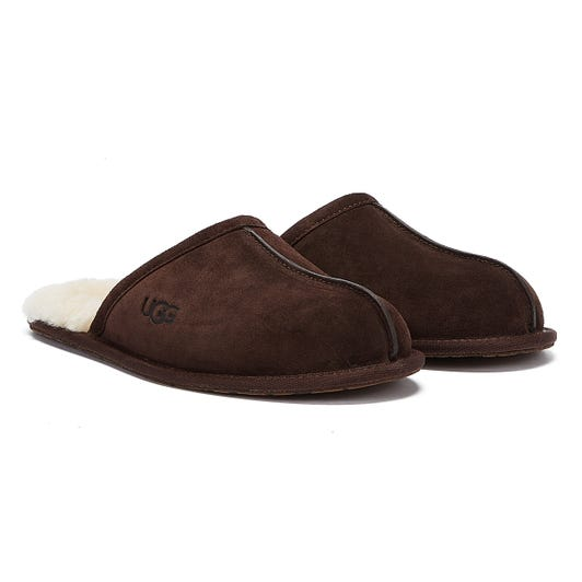 UGG Scuff Mens Espresso Brown Slippers