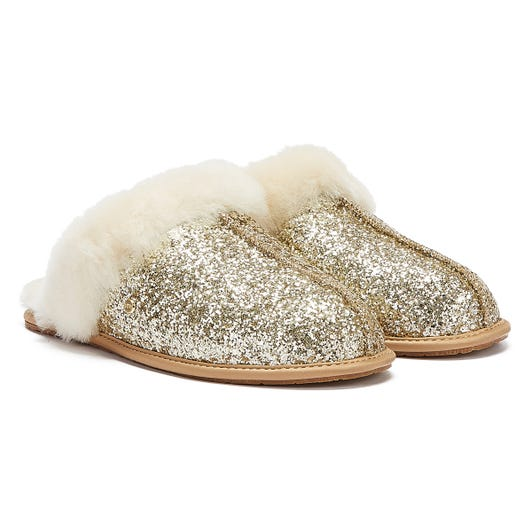 UGG Scuffette II Cosmos Womens Gold Slippers