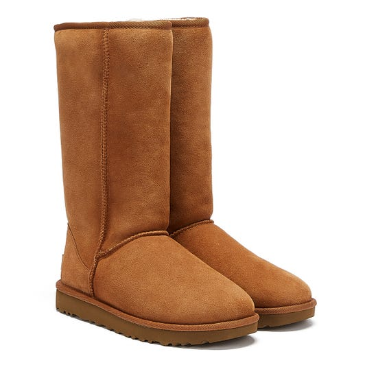 UGG Classic Tall II Womens Chestnut Brown Boots