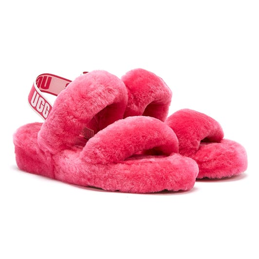 UGG Oh Yeah Womens Berry Slippers